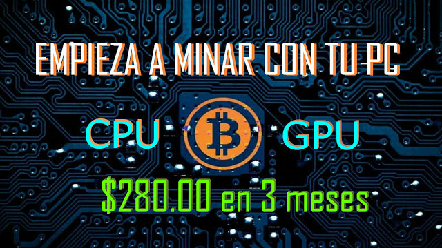 Computta Mineria Bitcoin en PC