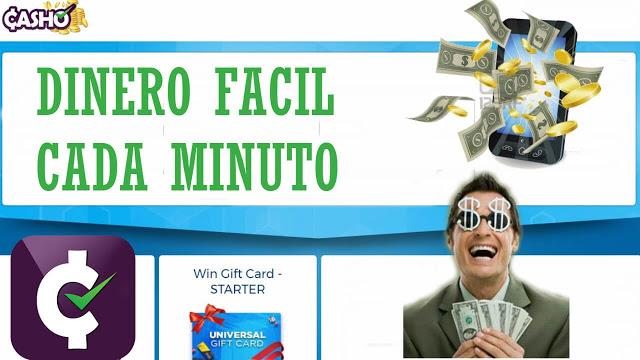 Dinero Fácil cada minuto con Casho