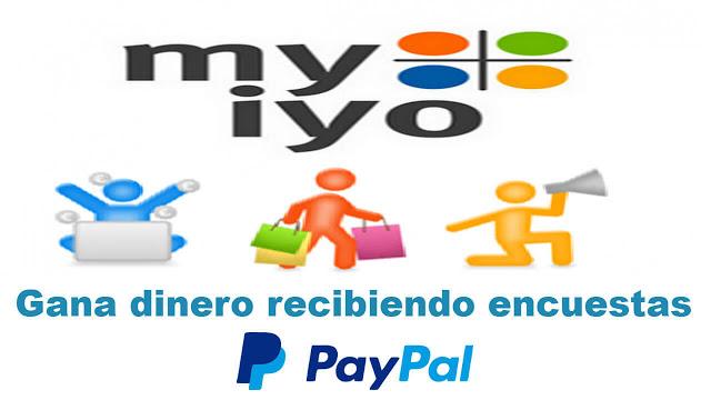Ganar dinero a paypal con encuesta Myiyo