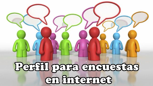 Perfil para Encuestas en Internet