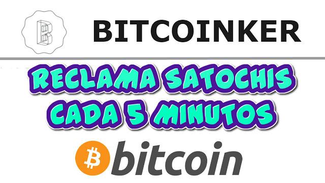 Bitcoinker Faucet bitcoin cada 5 minutos