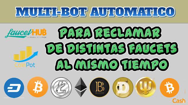 ▷ Maisbot Bot multifaucet criptomonedas gratis -【2019】