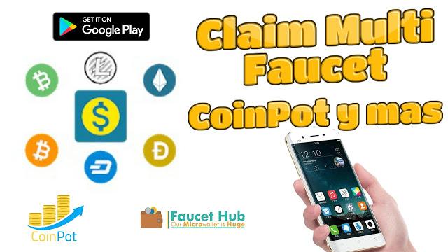 Claim Multi Faucet Las faucet con una aplicación android