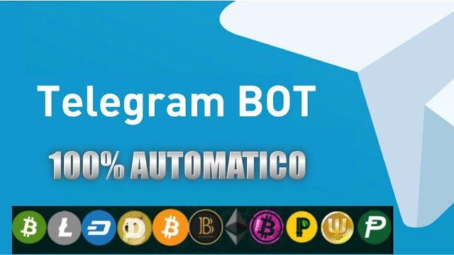 Bot Criptomonedas con Telegram
