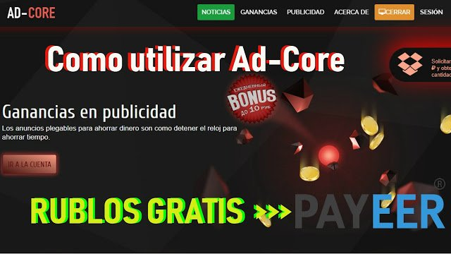 Tutorial completo Ad-Core Rublos gratis