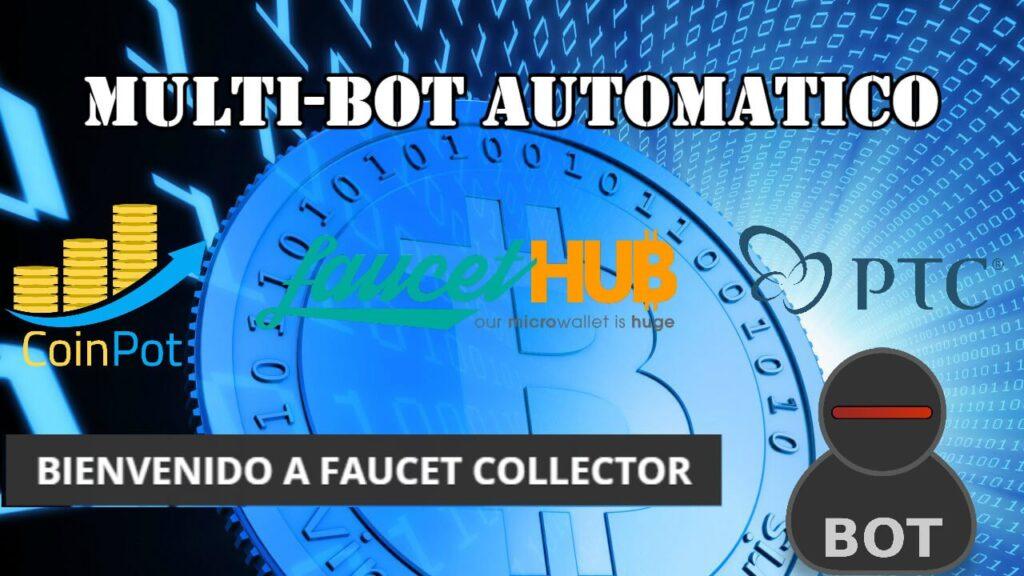 Tutorial Faucet Collector Bot Como funciona