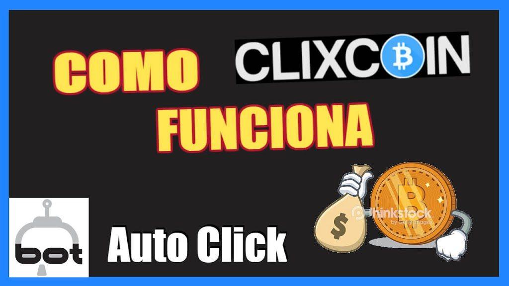 Clixcoin Como Funciona Auto Click BOT Bitcoin Gratis