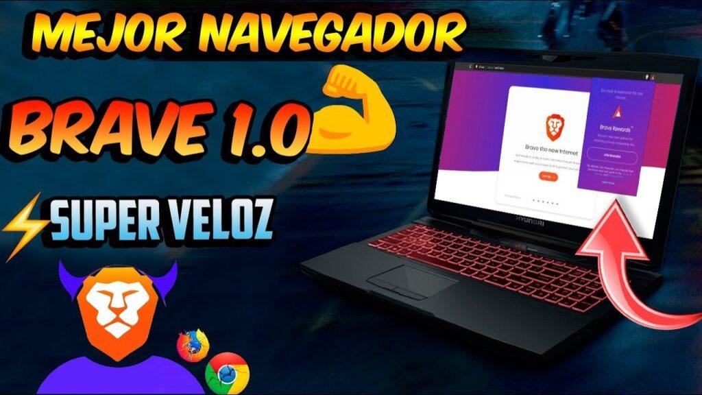 El MEJOR Navegador BRAVE Destroza a CHROME y Firefox